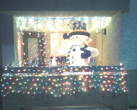 Patio Christmas Lights