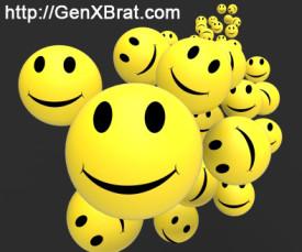 Multiple smileys