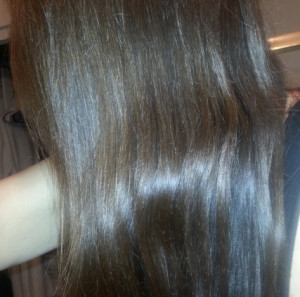Using Pure Coconut Oil & Brown Hair Dye to Color Gray Hair | GenX Brat