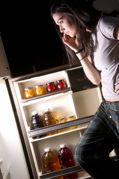 Staring into the fridge