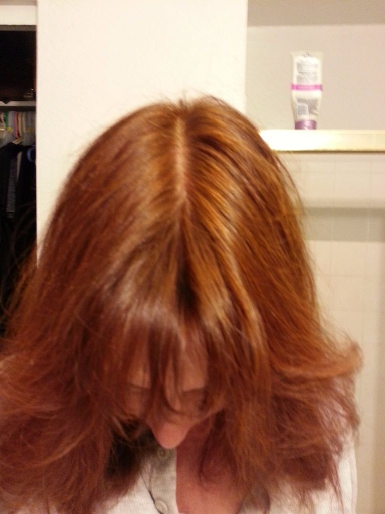 Pure Henna will only turn your hair red... not something I want permanently!