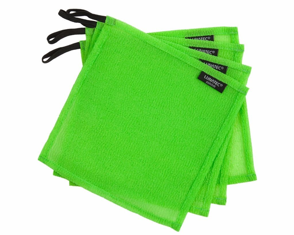 LUNATEC Odor-Free Dishcloths - fantastic for scrubbing and washing. They dry fast and never gunk up!