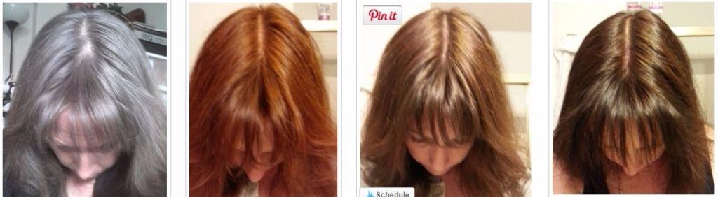 Chestnut brown hair color dye