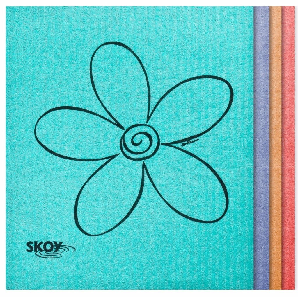 Skoy Eco-friendly Cleaning Cloths - No more stinky washcloths!