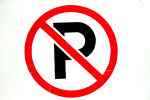 No Parking Signs - Everywhere in California