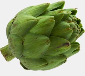 Raw Green Artichoke