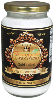 Tropical Traditions Gold Label Virgin Coconut Oil -LOVE THIS STUFF!